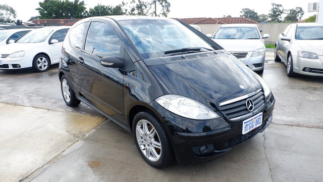 Used Mercedes-Benz A-Class W169 A170 Classic St James, 2006 Mercedes-Benz A-Class W169 A170 Classic Black 7 Speed Constant Variable Hatchback