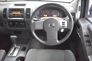 2011 Nissan Navara D40 MY11 RX 4x2 White 5 Speed Automatic Utility