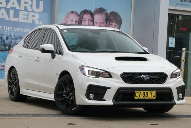 Used Subaru WRX MY20 Premium (AWD) Rosebery, 2019 Subaru WRX MY20 Premium (AWD) Crystal White Continuous Variable Sedan