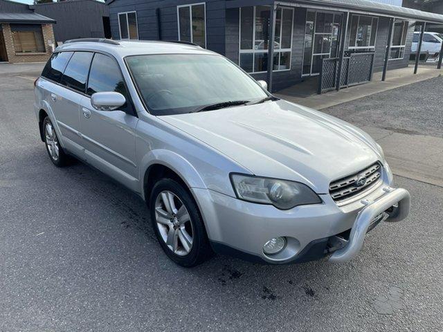 Used Subaru Outback B4A MY04 R AWD Gepps Cross, 2004 Subaru Outback B4A MY04 R AWD Silver 5 Speed Automatic Wagon