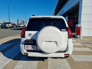 2018 Toyota Landcruiser Prado GDJ150R MY17 GXL (4x4) Glacier White 6 Speed Automatic Wagon.