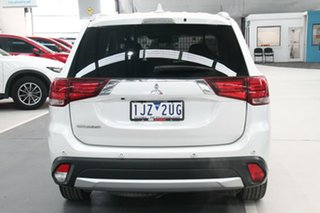 2017 Mitsubishi Outlander ZK MY17 LS (4x2) White Continuous Variable Wagon