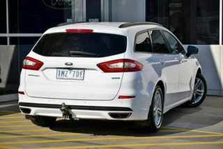 2018 Ford Mondeo MD 2018.25MY Ambiente White 6 Speed Sports Automatic Wagon