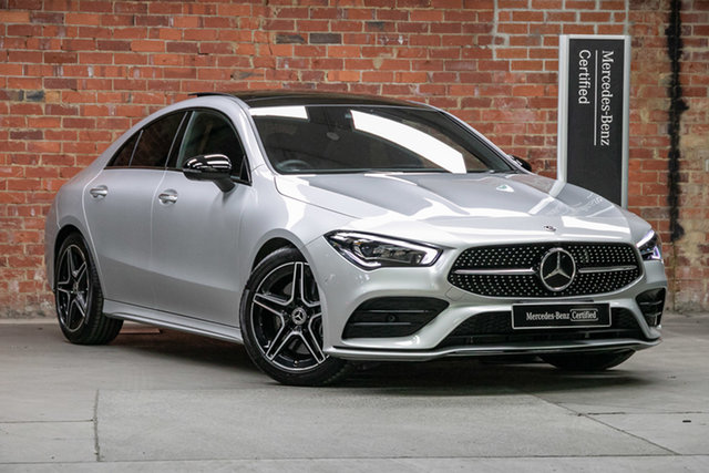 Certified Pre-Owned Mercedes-Benz CLA-Class C118 800+050MY CLA250 D-CT 4MATIC Mulgrave, 2020 Mercedes-Benz CLA-Class C118 800+050MY CLA250 D-CT 4MATIC Iridium Silver 7 Speed