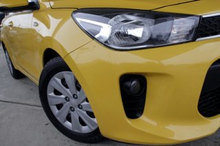 2018 Kia Rio YB MY18 S Mighty Yellow 4 Speed Sports Automatic Hatchback.