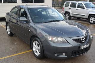 2008 Mazda 3 BK10F2 Neo Grey 4 Speed Sports Automatic Sedan.