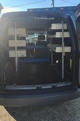 2009 Volkswagen Caddy 2KN Maxi Black 5 Speed Manual Van