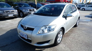 2008 Toyota Corolla ZRE152R Ascent Silver 4 Speed Automatic Hatchback.