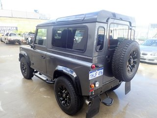 2015 Land Rover Defender MY16 90 Grey Matter with Black Roof 6 Speed Manual Wagon