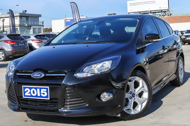 Used Ford Focus LW MkII MY14 Sport Coburg North, 2015 Ford Focus LW MkII MY14 Sport Black 5 Speed Manual Hatchback