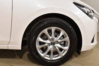2018 Mazda 2 DL2SAA Maxx SKYACTIV-Drive White 6 Speed Sports Automatic Sedan
