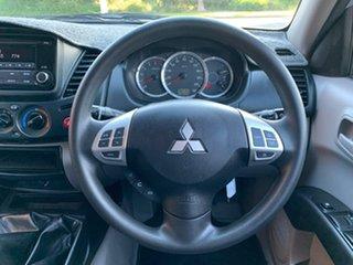 2015 Mitsubishi Triton MN GLX Silver Manual Utility
