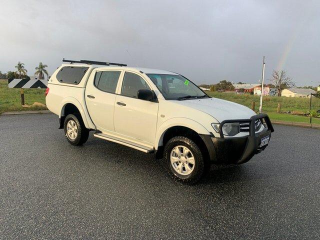 Used Mitsubishi Triton MN MY15 GLX (4x4) Wangara, 2015 Mitsubishi Triton MN MY15 GLX (4x4) White 5 Speed Manual 4x4 Double Cab Utility