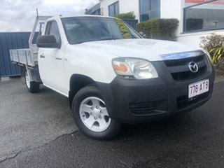 2007 Mazda BT-50 UNY0W3 DX 4x2 White 5 Speed Manual Cab Chassis.