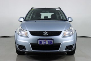 2012 Suzuki SX4 GY MY11 AWD Oyster Blue Continuous Variable Hatchback.