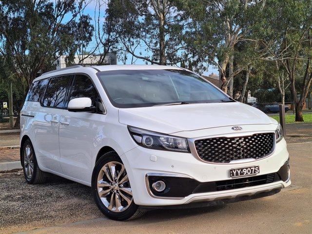 Used Kia Carnival YP MY15 Platinum St Marys, 2015 Kia Carnival YP MY15 Platinum White 6 Speed Sports Automatic Wagon