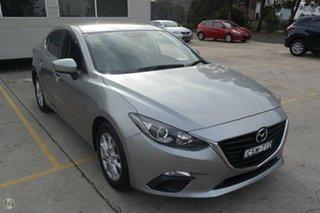 2013 Mazda 3 BM5278 Maxx SKYACTIV-Drive Silver 6 Speed Sports Automatic Sedan.