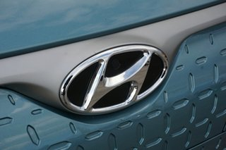 2019 Hyundai Kona OS.3 MY19 electric Highlander Ceramic Blue & Chalk White Roof 1 Speed