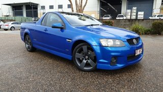2011 Holden Commodore VE II MY12 SV6 Blue 6 Speed Automatic Utility.