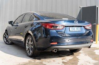 2015 Mazda 6 GJ1022 Atenza SKYACTIV-Drive Deep Crystal Blue 6 Speed Sports Automatic Sedan.