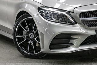 2021 Mercedes-Benz C-Class W205 801MY C200 9G-Tronic Mojave Silver 9 Speed Sports Automatic Sedan.