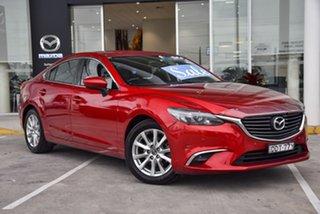 2015 Mazda 6 GJ1032 Touring SKYACTIV-Drive Soul Red 6 Speed Sports Automatic Sedan.