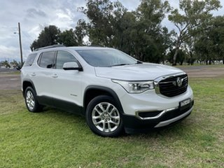 2018 Holden Acadia AC MY19 LT AWD Abalone White 9 Speed Sports Automatic Wagon.