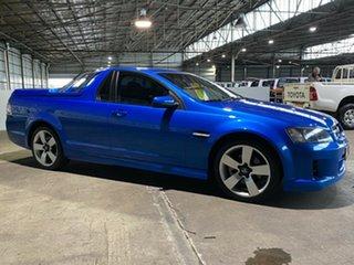 2009 Holden Ute VE MY10 SS V Blue 6 Speed Manual Utility.