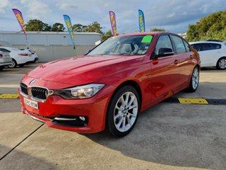 2012 BMW 320d F30 MY0812 320d Red 8 Speed Sports Automatic Sedan.