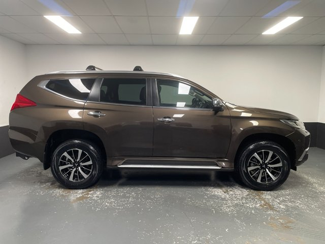Used Mitsubishi Pajero Sport Exceed Hamilton, 2016 Mitsubishi Pajero Sport Exceed Deep Bronze Automatic