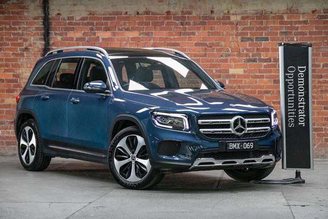 Demonstrator Mercedes-Benz GLB-Class X247 801MY GLB250 DCT 4MATIC Mulgrave, 2020 Mercedes-Benz GLB-Class X247 801MY GLB250 DCT 4MATIC Denim Blue 8 Speed