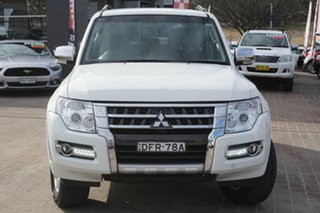 2016 Mitsubishi Pajero NX MY16 GLX White 5 Speed Sports Automatic Wagon.
