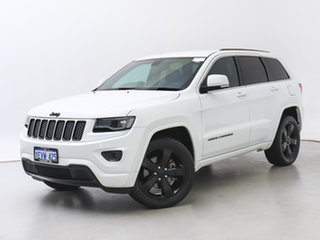 2015 Jeep Grand Cherokee WK MY15 Blackhawk (4x4) White 8 Speed Automatic Wagon.