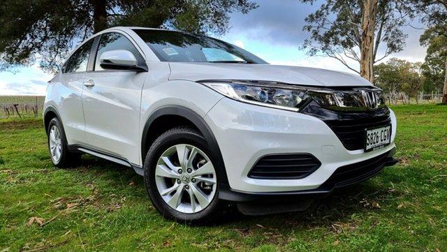 Used Honda HR-V MY21 VTi Nuriootpa, 2020 Honda HR-V MY21 VTi Platinum White 1 Speed Constant Variable Hatchback