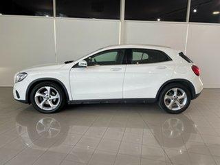 2017 Mercedes-Benz GLA-Class X156 808+058MY GLA220 d DCT White 7 Speed Sports Automatic Dual Clutch
