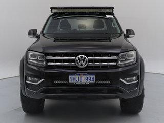 2019 Volkswagen Amarok 2H MY19 V6 TDI 550 Highline Black 8 Speed Automatic Dual Cab Utility.