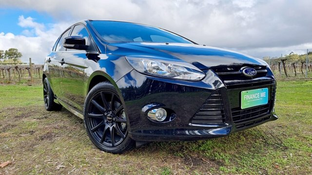 Used Ford Focus LW MkII MY14 Sport PwrShift Nuriootpa, 2014 Ford Focus LW MkII MY14 Sport PwrShift Black/Grey 6 Speed Sports Automatic Dual Clutch