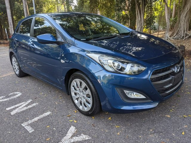 Used Hyundai i30 GD3 Series II MY16 Active Stuart Park, 2015 Hyundai i30 GD3 Series II MY16 Active Blue 6 Speed Sports Automatic Hatchback