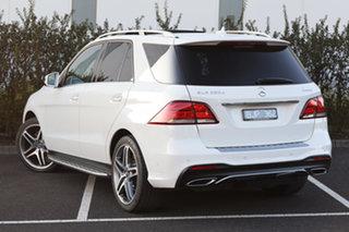 2018 Mercedes-Benz GLE-Class W166 MY808+058 GLE250 d 9G-Tronic 4MATIC Polar White 9 Speed.