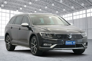 2018 Volkswagen Passat 3C (B8) MY18 Alltrack DSG 4MOTION Wolfsburg Edition Manganese Grey Metallic.