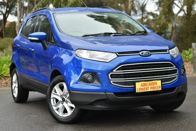 Used Ford Ecosport BK Trend PwrShift Melrose Park, 2015 Ford Ecosport BK Trend PwrShift Blue 6 Speed Sports Automatic Dual Clutch Wagon