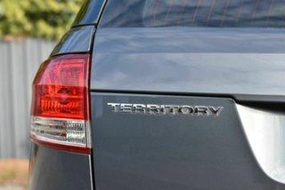 2012 Ford Territory SZ TS Seq Sport Shift Grey 6 Speed Sports Automatic Wagon
