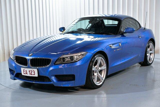 Used BMW Z4 E89 LCI sDrive20i Edition M Sport Hendra, 2016 BMW Z4 E89 LCI sDrive20i Edition M Sport Blue 8 Speed Sports Automatic Roadster