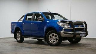 2016 Holden Colorado RG MY16 LTZ Crew Cab Blue 6 Speed Sports Automatic Utility.