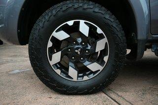 2016 Mitsubishi Triton MQ MY16 Exceed (4x4) Grey 5 Speed Automatic Dual Cab Utility.