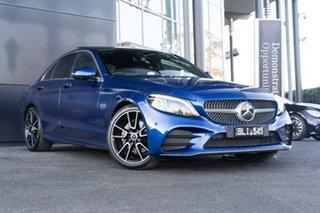 2020 Mercedes-Benz C-Class W205 800+050MY C200 9G-Tronic Brilliant Blue 9 Speed Sports Automatic.