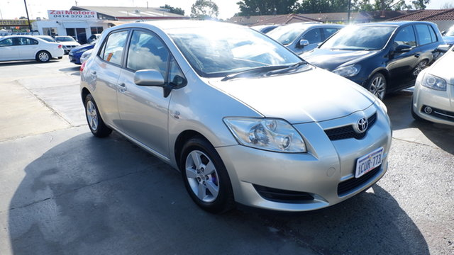 Used Toyota Corolla ZRE152R Ascent St James, 2008 Toyota Corolla ZRE152R Ascent Silver 4 Speed Automatic Hatchback