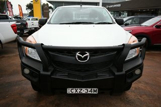 2015 Mazda BT-50 MY13 XT (4x4) White 6 Speed Manual Freestyle Cab Chassis