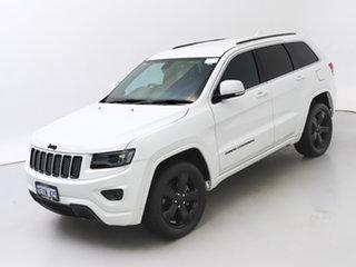 2015 Jeep Grand Cherokee WK MY15 Blackhawk (4x4) White 8 Speed Automatic Wagon