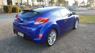 2012 Hyundai Veloster FS + Blue 6 Speed Manual Coupe.